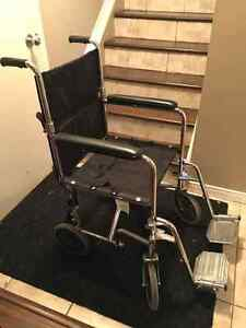 AMG Lightweight fold able wheelchair West Island Greater Montréal image 1
