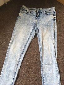 Size 14 skinny jeans