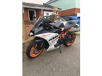 Rc390 2016 only 2800 miles