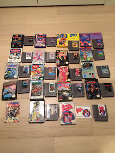 50 NES Nintendo Boxed and Loose Games- Mario 1,2,3,Final Fantasy