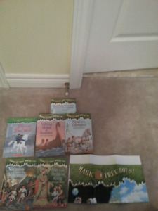 Magic Tree House Books- 5 books available-$2each or 5 for $8.50