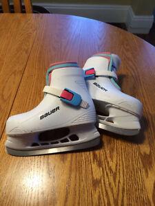Bauer Girls Skates Size 10/11