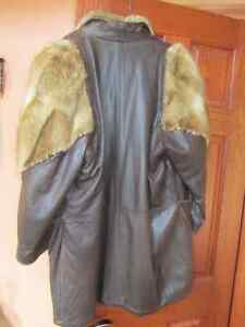 Genuine Leather and Fur Jacket Peterborough Peterborough Area image 3