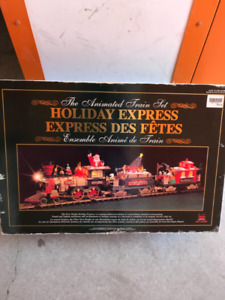 Holiday Express Train Set and EXTRAS