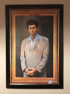 Seinfeld - KRAMER picture framed