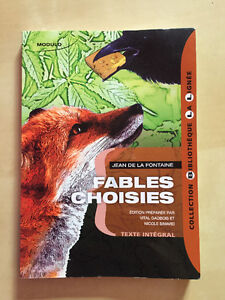 Fables choisies - Jean de la Fontaine