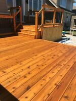 Staining Experts- Interior and Exterior Staining- Call Us Today!