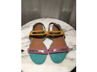 Piper Women's Flat Sandals Size UK 4 WORN ONCE