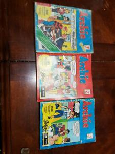 Livre archie numéro 1,3 et 5