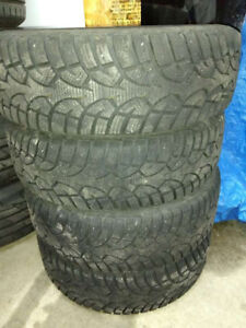 Winter tires on rims 175/65/R14 - General Altimax Artic