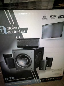 Nolyn Acoustics surround sound speakers!!