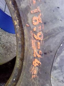 16.9x24 backhoe\forklift tires,used.