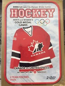 2002 Olympic Woman's and Men's Gold Medal Hockey Games
