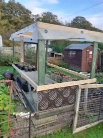 garden shelter.