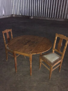 Antique Table and Chairs
