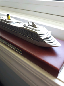 Pewter Cruise Ship Model-Costa Fortuna