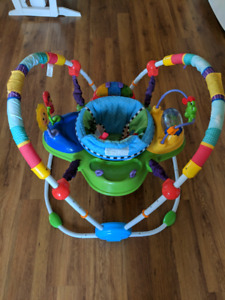 Baby Einstein activity table and bouncy chair