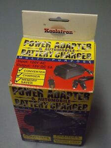 Power Adapter & Auto Battery Charger