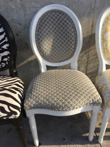 French Louis Accent Chair - Custom Upholstered