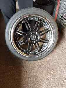 2 sets of tires with rims Windsor Region Ontario image 2