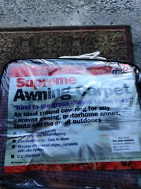 Awning tent carpet