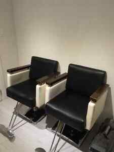 Salon styling chairs with sink Kitchener / Waterloo Kitchener Area image 6