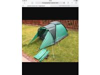 Brand new 2 person tent and accessories