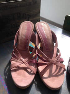 NINE WEST SHOES (Size 10, Dusty Pink)