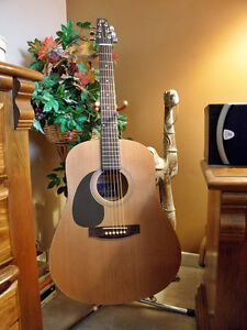 LEFT HANDED Seagull Cedar Solid Top Acoustic Guitar