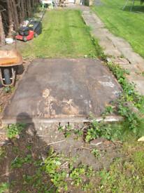 Free wood slate large