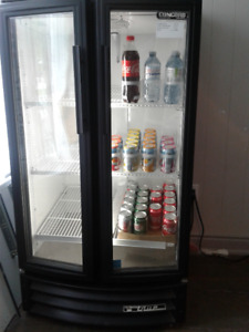 2 DOOR POP REFRIGERATOR