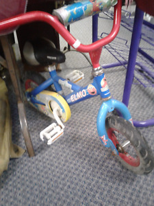 Vintage kids Elmo Bike - very rare-collectors or ride it