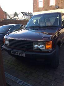 Lpg duel fuel Range Rover