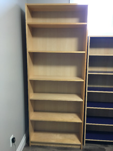 Assorted IKEA Bookcases