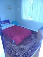 one furnished bedroom available in a three bedroom house