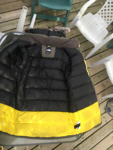 north face mchaven parka size medium style cb84 olive green