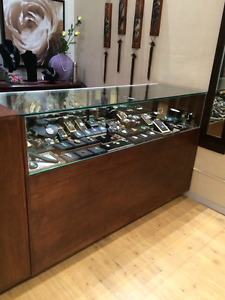 Stunning jewelry counter for sale