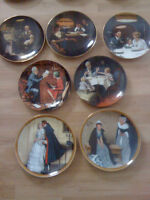 Norman Rockwell plates