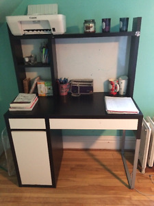 Desk, desk chair, and printer for sale