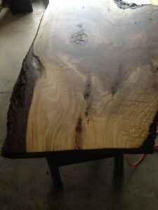 Black Walnut Live Edge Desk /Coffee Table Completed Top Kitchener / Waterloo Kitchener Area image 5