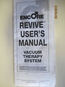 ENCORE VACUUM PUMP---   FOR MEN. Strathcona County Edmonton Area image 1