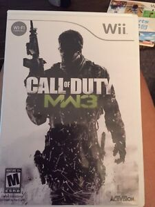 Call of duty mw3 for wii