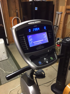 Reduced Vision Fitness R2050 recumbent exercise bike