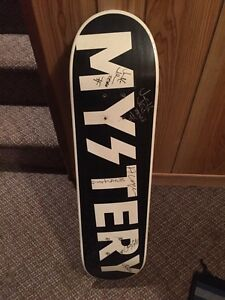 MYSTERY SKATEBOARD DECK SIGNED FOR SALE!!