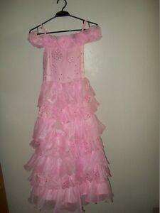 Robe de bal / de soirée pour jeune fille 12 ans, rose