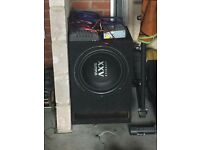 "15"" sub and amp"