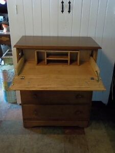 4 Drawer Chest with Secretary Pull-Out Desk Compartment