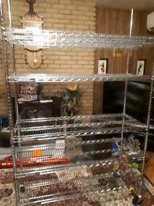 New reduced price/Seville Wire Industrial grade shelving system