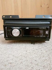 JVC KD-R80BT CD/MP3 radio deck with removable face
