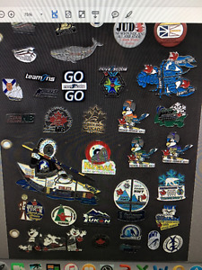 Wanted 2015 Canada Winter Games Lapel Pins from Prince George